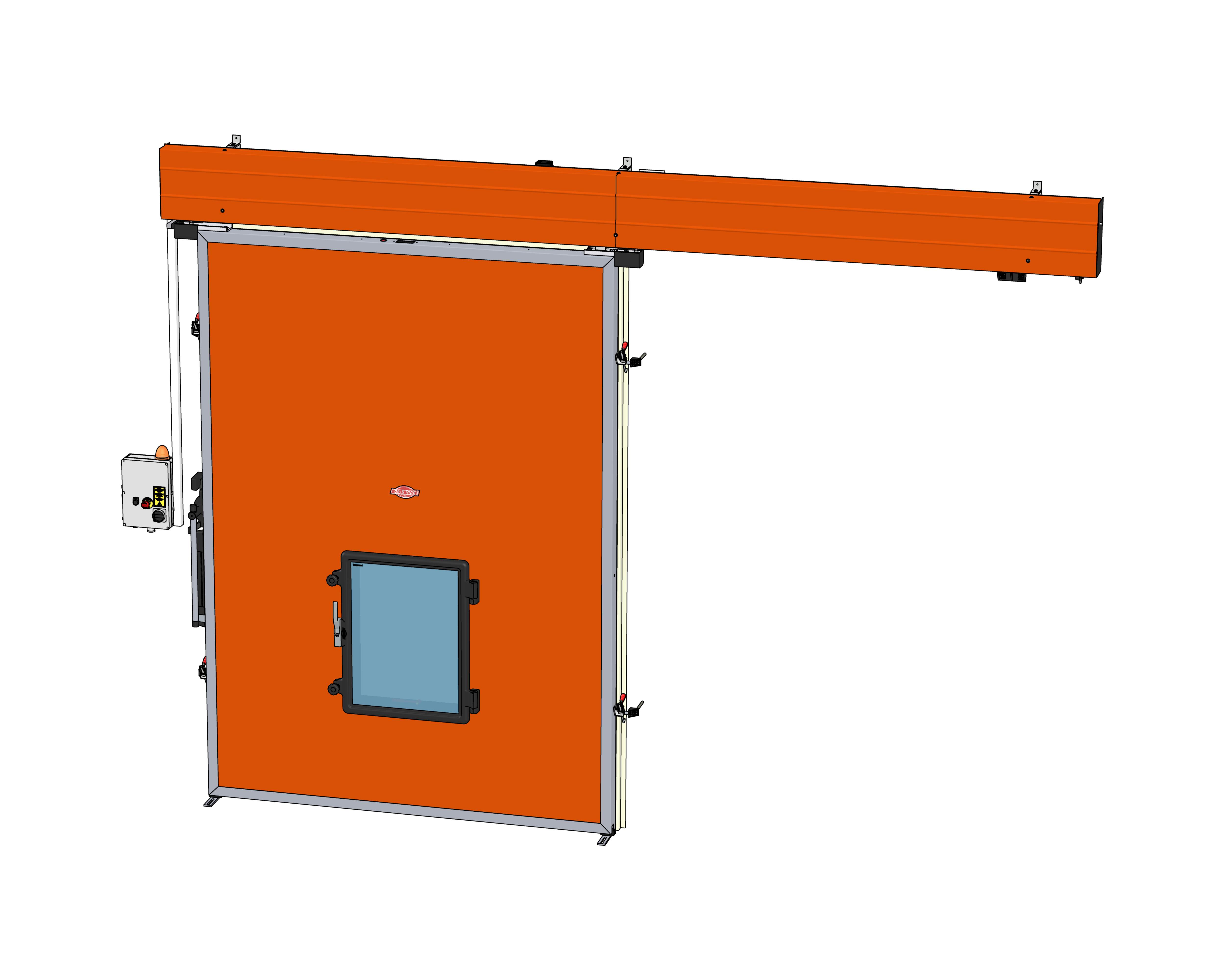 Commercial Door Fixtures : Cold storage doors Πάνελ Πολυουρεθάνης Πόρτες Ψυκτικών
